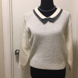 20% wool, 75% acrylic, & 5% spandex, size small